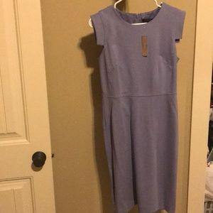 J Crew lavender pencil dress